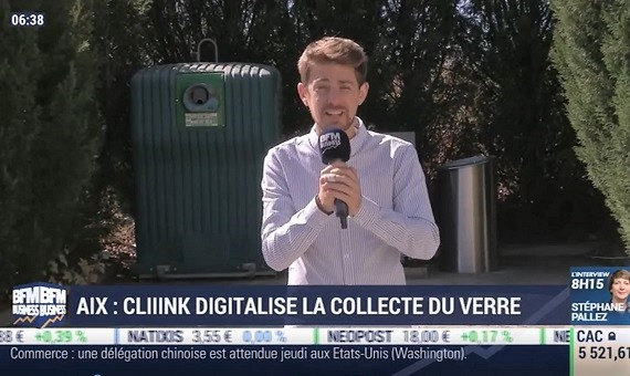BFM Business : Cliiink dans La France qui bouge