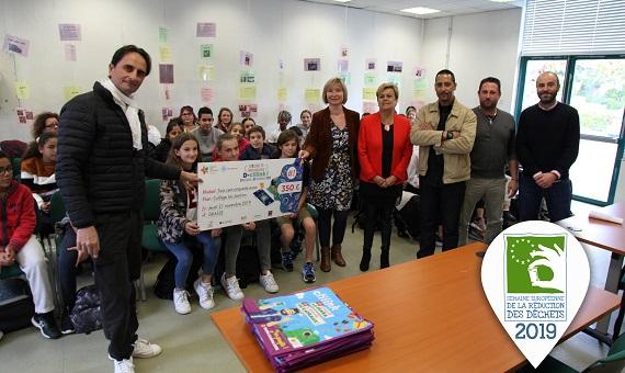 Challenge inter-écoles à Grasse