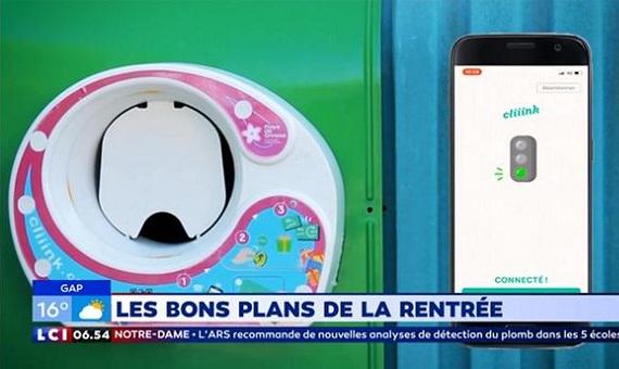LCI : Cliiink dans la sélection d'apps de La Matinale